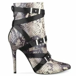Guess Snake Print Bootie Size 11M